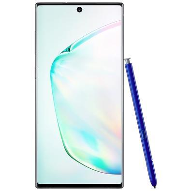 Smartphone Samsung Galaxy Note 10, 256GB, 16MP, Tela 6.3´, Prata + Caneta e Capa - SM-N970FZSJZTO