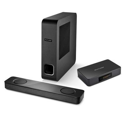 Soundbar Mini 120W + Smart TV Box Multilaser - SP334