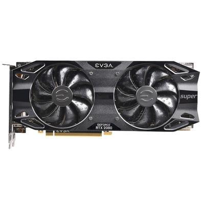 Placa de Vídeo EVGA NVIDIA GeForce RTX 2080 Super Black Gaming, 8GB, GDDR6 - 08G-P4-3081-KR