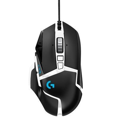 Mouse Gamer Logitech G502 SE Hero 16K, RGB Lightsync, 11 Botões, Rolagem Hiper Veloz, 16000 DPI, Branco - 910-005744