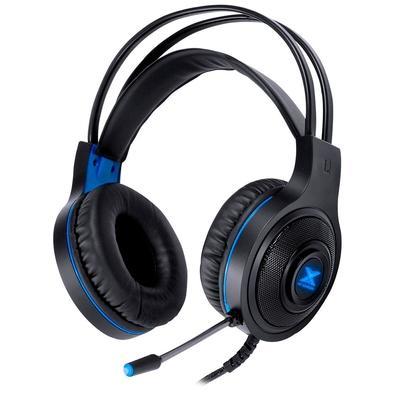 Headset Gamer Vinik VX Gaming Lugh, LED Azul, Drivers 40mm, Preto e Azul - 31538
