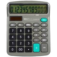 Calculadora Eletrônica Hoopson, 12 Dígitos, Bateria - PS-6837B
