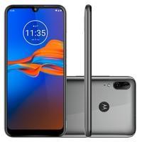 Smartphone Motorola E6 Plus, 32GB, 13MP, Tela 6.1´, Cinza Metálico + Capa - XT2025-1