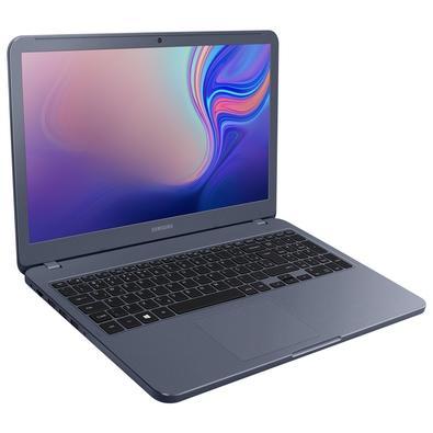 Notebook Samsung Expert X50, Intel Core i7-8565U, 8GB, HD 1TB, NVIDIA GeForce MX110 2GB, Windows 10 Home, 15.6´, Titânio Metálico - NP350XBE-XH3BR