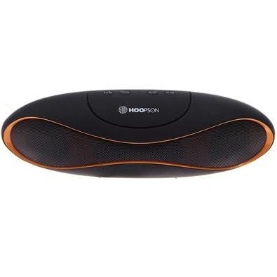 Caixa de Som Portátil Hoopson, Bluetooth, 3W RMS, Preto/Laranja - RB-003 DL