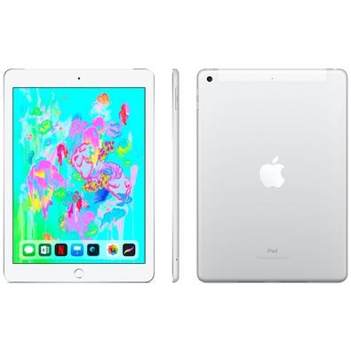 iPad 6, Tela 9.7´, 128GB, Wi-Fi + Celular, Prata - MR732BZ/A