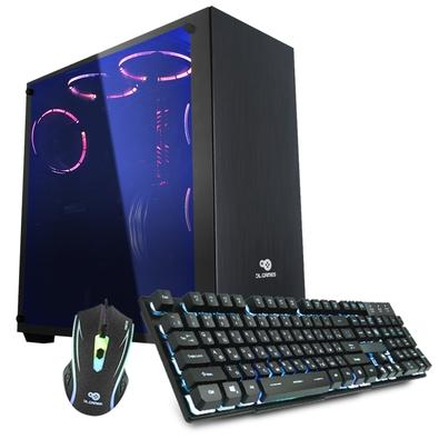Computador Gamer DL Ultra, Intel Core i5-7400, 8GB, 1TB, GeForce GT 1060 3GB, W10 Trial - GS257PVM