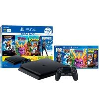 Console Sony Playstation 4 Hits Bundle Mega Pack 8, 1TB - Ratchet e Clank + Spyro + Crash Bandicoot + Voucher Fortnite Neo Versa - CUH-2214B