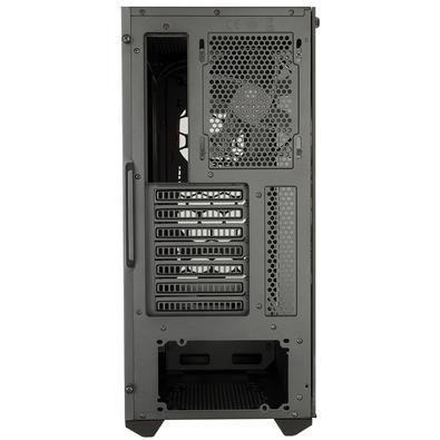 Gabinete Gamer Cooler Master Masterbox MB511 TG, Mid Tower, com FAN, Lateral em Vidro, Preto/Vermelho - MCB-B511D-KGNN-S00