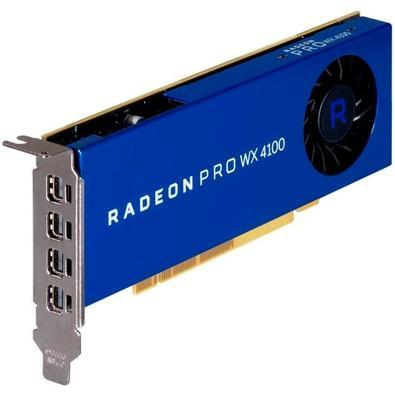 Placa de Vídeo AMD Radeon Pro WX 4100, 4GB, GDDR5 - 100-506008