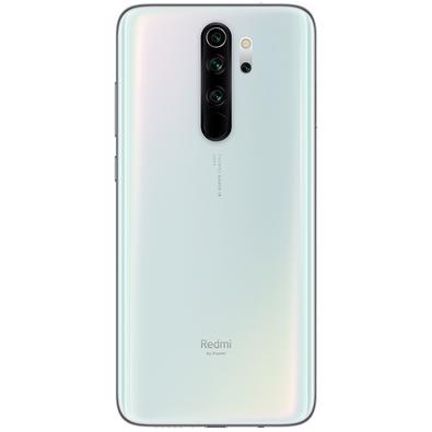 Smartphone Xiaomi Redmi Note 8 Pro, 128GB, 64MP, Tela 6.53´, Branco + Capa Protetora - CX289BRA