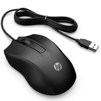 Mouse Usb Óptico Led 1000 Dpis 2hu84aa Hp