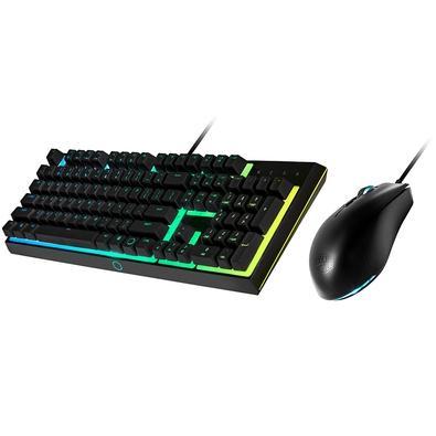 Kit Gamer Cooler Master MS111 - Teclado RGB, ABNT + Mouse RGB - MS111-KKMF1-BR