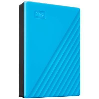 HD WD Externo Portátil My Passport, 2TB, USB 3.2, Azul - WDBYVG0020BBL-WESN