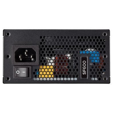 Fonte Corsair SF600 600W, 80 Plus Platinum, Modular - CP-9020182-NA