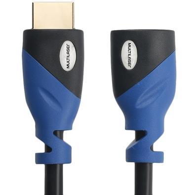 Cabo Extensor HDMI 2.0 Multilaser, 1.8m - WI360