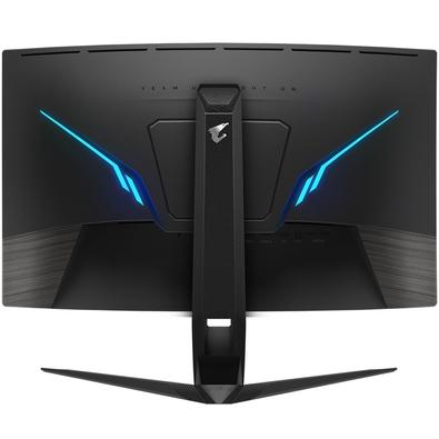 Monitor Gamer Gigabyte Aorus LED, 27´, QHD, HDMI, Display Port, 165Hz, 1ms, Altura Ajustável - CV27Q-SA