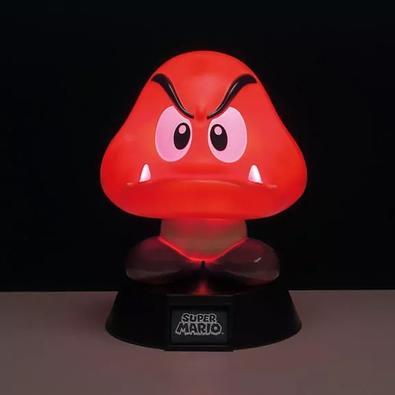 Action Figure Luminária Nintendo Super Mario Bros, Goomba - 29518