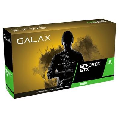 Placa de Vídeo Galax NVIDIA GeForce GTX 1660 Prodigy, 6GB, GDDR5 - 60SRH7DS20PY