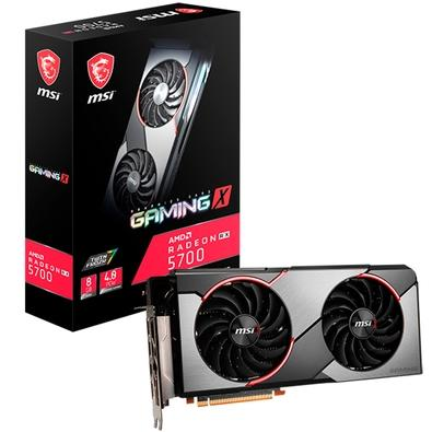 Placa de Vídeo MSI AMD Radeon RX 5700 Gaming X, 8GB, GDDR6