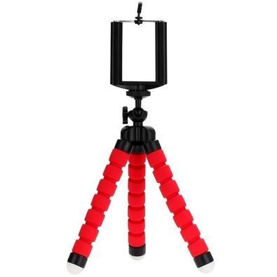 Tripé Flexível MD9 para Câmera e Smartphone, Vermelho - 8143
