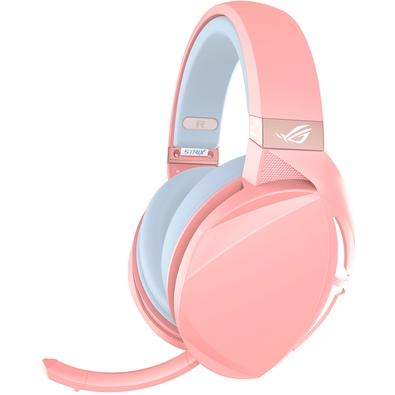 Headset Gamer Asus Rog Strix Fusion 300 PNK, 7.1 Virtual Surround, Drivers 50mm, Rosa - 90YH01UP-B8UA00