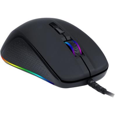 Mouse Gamer Redragon Stormrage M718, RGB, 7 Botões, 10000DPI - RGB M718-RGB