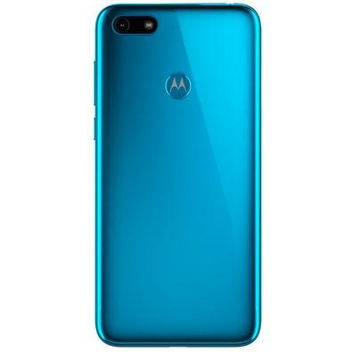 Smartphone Motorola Moto E6 Play, 32GB, 13MP, Tela 5.5´, Azul Metálico + Capa Protetora - PAHC0000BR