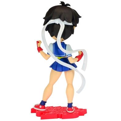 Action Figure Street Fighter Knock-Outs Serie 1, Sakura - SAKURA