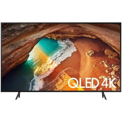 Smart TV QLED 55´ UHD 4K Samsung, 4 HDMI, 2 USB, Bluetooth, Wi-Fi, Modo Ambiente, Pontos Quânticos, HDR - QN55Q60RAGXZD