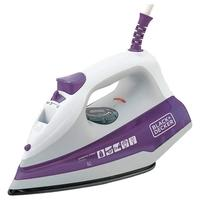Ferro de Passar a Vapor Black + Decker Essential Steam, 1200W, 110V, Roxo - FX1000-BR