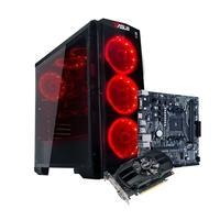 Computador Gamer BRX POWERED BY ASUS AMD Ryzen 5 3600X, 16GB, HD 1TB, SSD 120GB, Asus NVIDIA GeForce GTX 1650 4GB, Windows 10 Pro - BRXPC360016800W1000