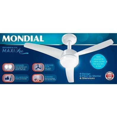 Ventilador de Teto Mondial Maxi Air, 103cm, 220V - VTE-01