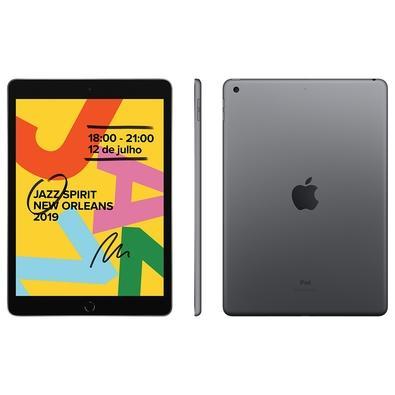 Tablet Apple Ipad 7 Mw742bz/a Cinza 32gb Wi-fi