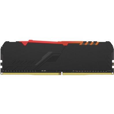 Memória HyperX Fury RGB, 16GB, 3733MHz, DDR4, CL19, Preto - HX437C19FB3A/16