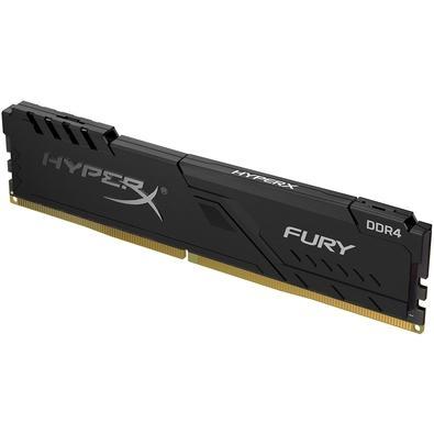 Memória HyperX Fury, 8GB, 3733MHz, DDR4, CL19, Preto - HX437C19FB3/8