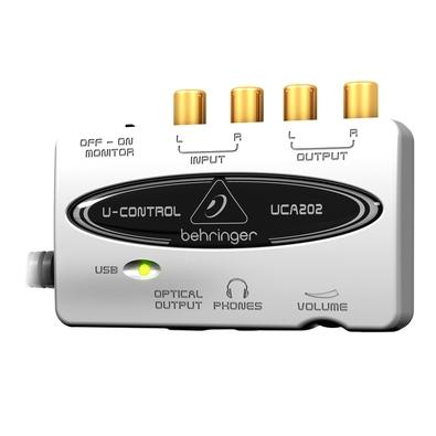 Interface de Áudio Behringer - U-Control UCA202