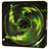 Cooler FAN OEX F10, 120mm, LED Verde - F10