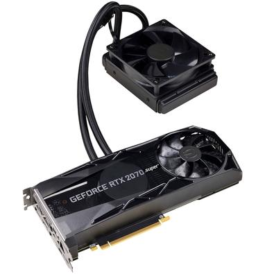 Placa de Vídeo EVGA NVIDIA GeForce RTX 2070 Super XC Hybrid Gaming, 8GB, GDDR6 - 08G-P4-3178-KR