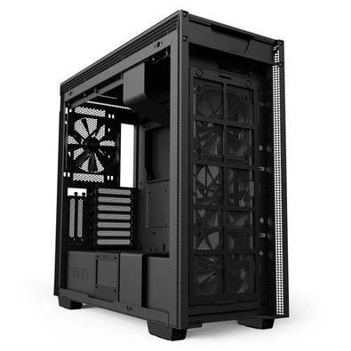 Gabinete Gamer NZXT H710i, Mid Tower, RGB, com FAN, Lateral em Vidro - CA-H710I-B1
