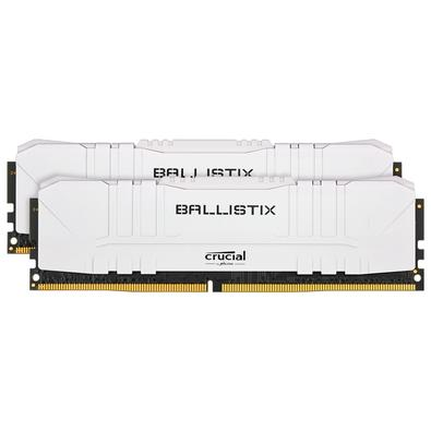Memória Crucial Ballistix Sport LT, 64GB (2X32), 3200MHz, DDR4, CL16, Branca - BL2K32G32C16U4W
