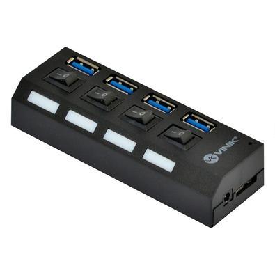 Hub USB Vinik HUV-50, 4 Portas 3.0 - 32282