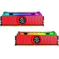 Memória XPG Spectrix D80 16GB (2x8GB), 4133MHz, DDR4, CL19, Vermelho - AX4U413338G19-DR80
