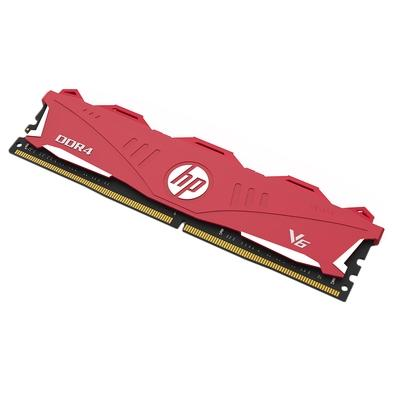 Memória HP V6, 16GB, 2666Mhz, DDR4, CL18, Vermelho - 7EH62AA#ABM