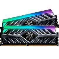 Memória XPG Spectrix D41, RGB, 32GB (2x16GB), 2666MHz, DDR4, CL16, Cinza - AX4U2666316G16-DT41