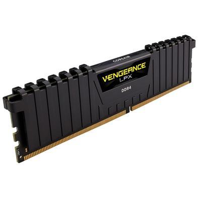 Memória Corsair Vengeance LPX 16GB (2x8GB) 4000Mhz DDR4 C18 Ryzen Black - CMK16GX4M2Z4000C18