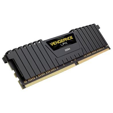 Memória Corsair Vengeance LPX 32GB (4x8GB) 3600Mhz DDR4 C18 Black - CMK32GX4M4B3600C18