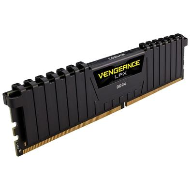 Memória Corsair Vengeance LPX 64GB (2x32GB) 3000Mhz DDR4 C16 Black - CMK64GX4M2D3000C16