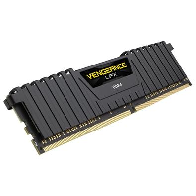Memória Corsair Vengeance LPX 64GB (4x16GB) 3600Mhz DDR4 C18 Black - CMK64GX4M4B3600C18