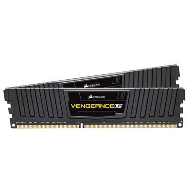 Memória Corsair Vengeance LP 8GB (2x4GB) 1600Mhz DDR3 C9 Black - CML8GX3M2A1600C9